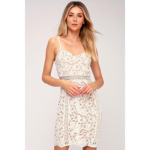 2079bbcfa6e Lulu s Dresses   Skirts - Lulus Giovanni White Lace Dress